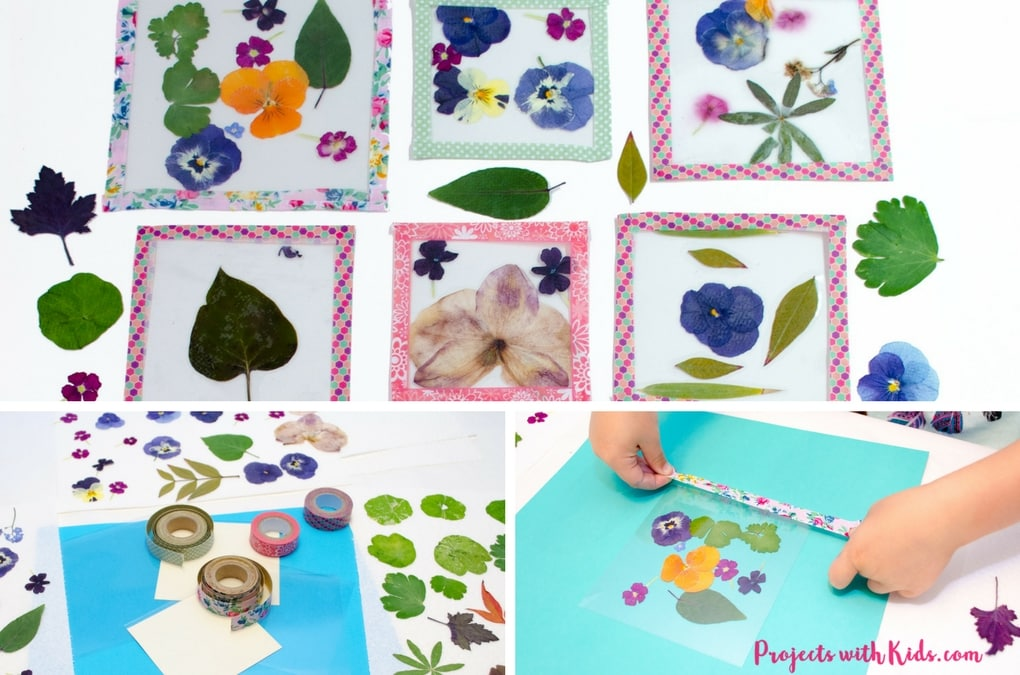 Content Newsletter Post ideas Explore These lovely handmade coasters use pressed flowers and washi tape and are the perfect unique gift that kids will love to give!