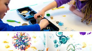 Simple & Fun Printmaking for Kids Using Recycled Materials