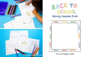 This back to school memory book is simple and fun for kids to fill out. It makes preserving all those school memories a snap! Just click through to read the full post and get your FREE printable book that will surely become a treasured keepsake.