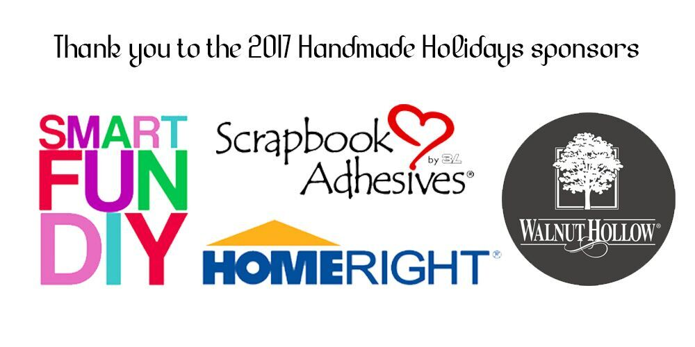Handmade Holiday Blog Hop Sponsors