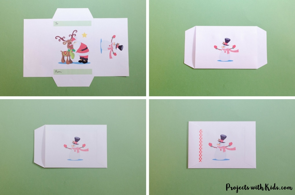 photo relating to Printable Christmas Envelopes named Cost-free Printable Xmas Reward Envelopes Jobs with Little ones