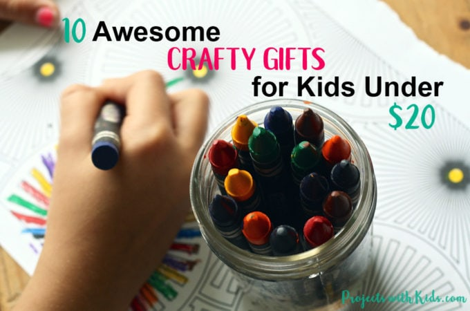 These crafty gifts for kids will inspire children to create and have fun! Some of the best craft supplies are open-ended ones that let your kids creativity shine through. Click on the link to find some inspiration for the crafty kids in your life.