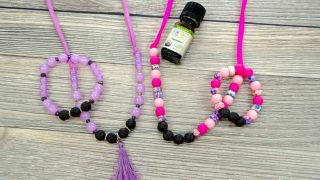 Lava Bead Diffuser Jewelry for Kids