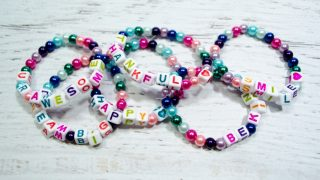Colorful Beaded Friendship Bracelets for Kids