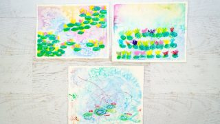 Monet Water Lilies Art Project for Kids