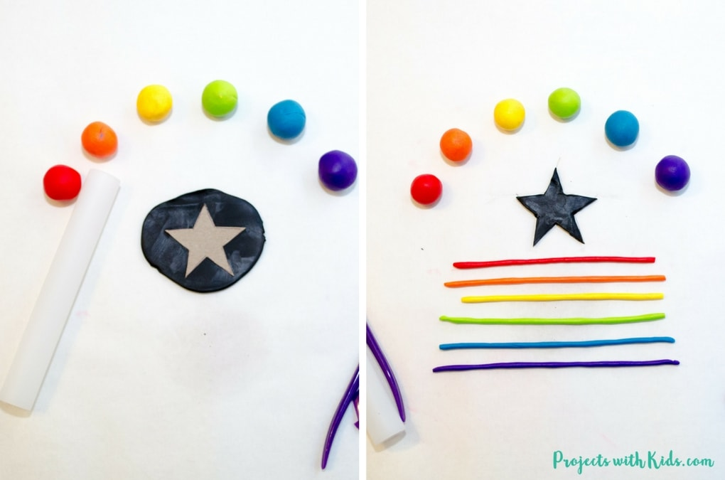 Learn how to easily make beautiful rainbow jewelry for kids using polymer clay. Kids will have fun making these unique charms in all sorts of fun shapes. A great handmade gift for kids to give to their friends!