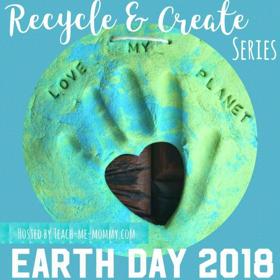 Recycle and create earth day series
