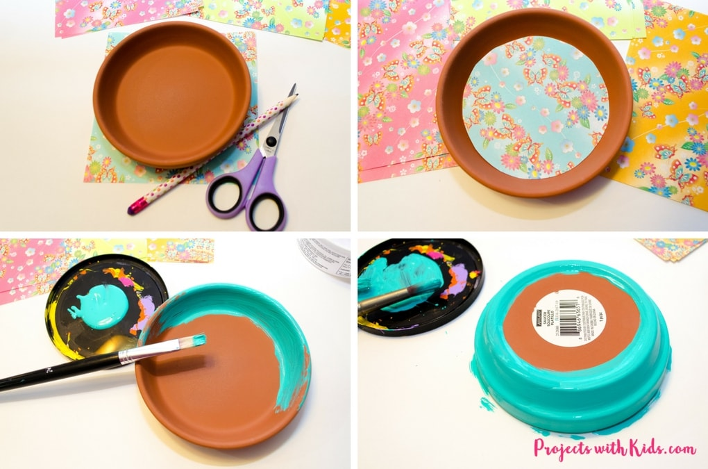 These kid made jewelry dishes make the perfect Mother's Day craft or handmade gift for any occasion. Bright and colorful and super easy to make, kids will love making their mom's this special gift.