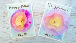 3D Flower Mother's Day Card Craft