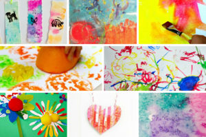 50 Fun & Engaging Process Art Projects for Kids