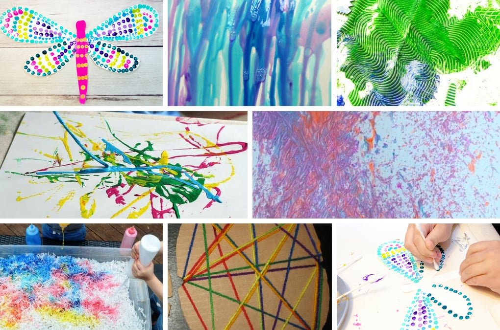 Inspire creativity and fun with these engaging process art projects for kids of all ages! Process art is a great way for kids to learn and explore new techniques and try out new art supplies and materials without focusing on the end result. You are sure to find projects that your kids will love and want to try. It's all about creating, taking risks and having fun!