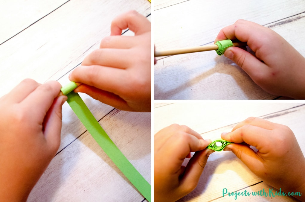 Celebrate fall with this easy paper quilling apple craft! No special tools are needed, making it a perfect craft for kids to learn this fun technique. Kids will love learning and creating with this unique paper craft.