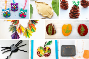 These autumn crafts for kids will inspire fun and creativity! Click through to find fall leaf crafts, pumpkin and apple crafts, fall decor crafts and more.
