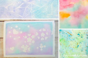 These easy watercolor techniques for kids are perfect for all ages and offer endless possibilities for creativity and fun. Kids will love exploring these watercolor painting ideas that produce magical and unexpected results!