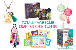 There are so many hours of crafty fun to be had with these craft kits for tweens! You are sure to find the perfect gift for the crafty kid in your life.