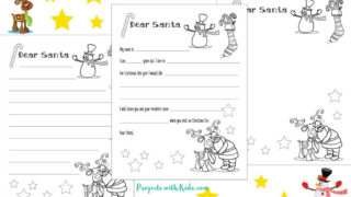 Free Santa Letter Printable Template