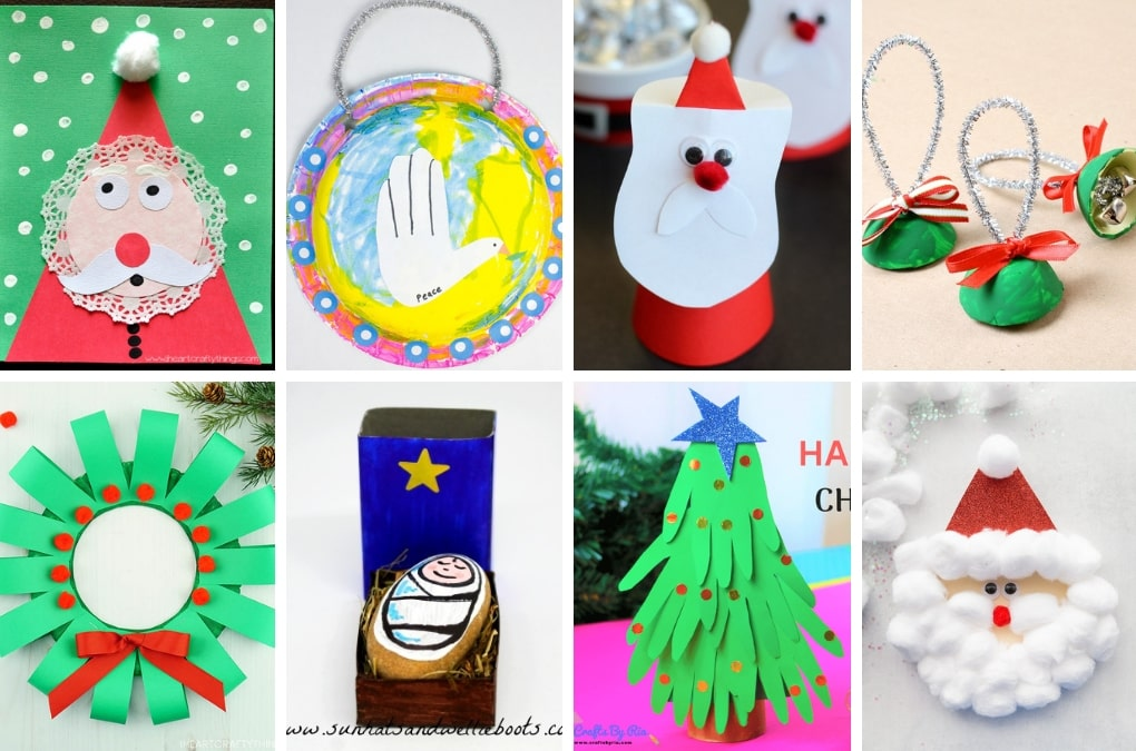 The ultimate list of 70+ creative Christmas projects for kids! Fun Christmas crafts,
