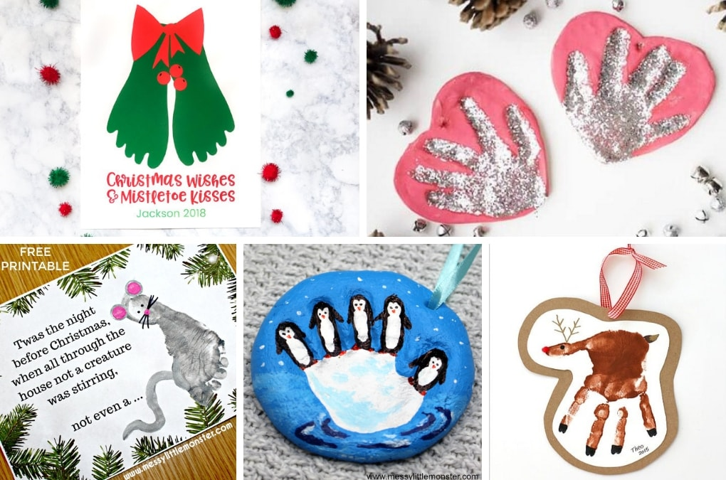 The ultimate list of 70+ creative Christmas projects for kids! Fun Christmas crafts, unique DIY ornaments, beautiful kid-made Christmas cards and more. Project ideas that kids of all ages will love to create.
