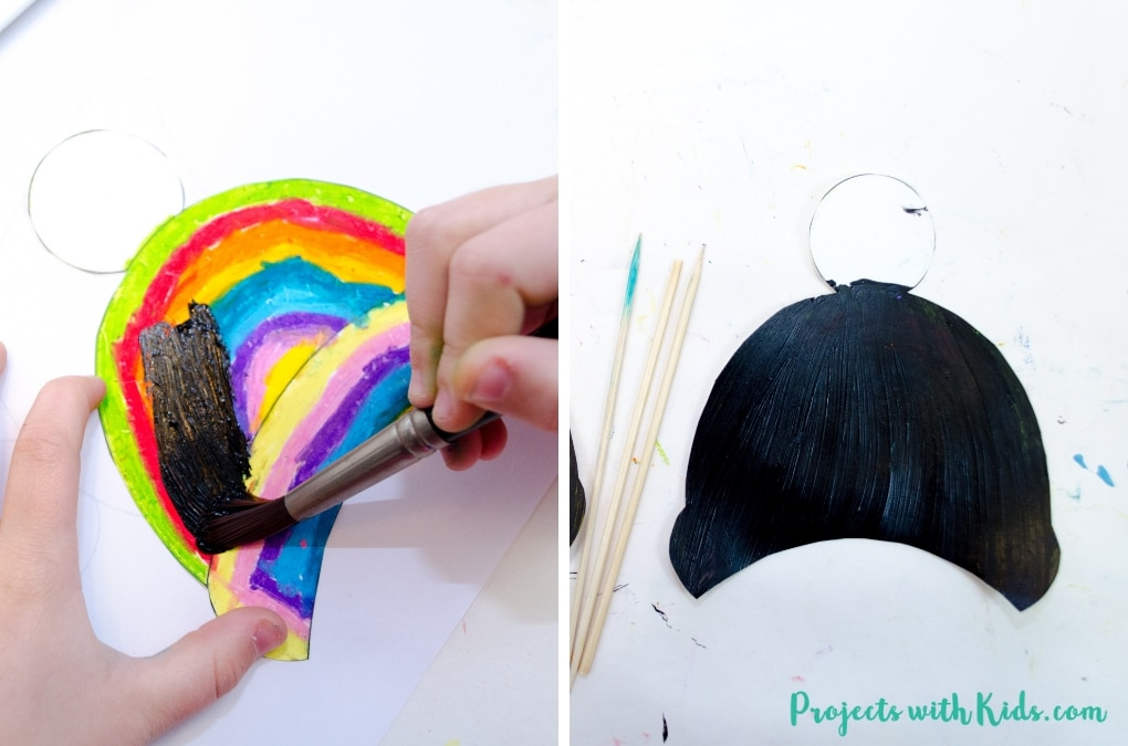 Brighten up your cold winter days with this colorful winter hat craft. Kids will love using scratch art to create their own unique designs. Free template included.