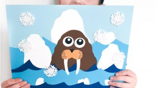 Walrus Arctic Animal Craft For Kids