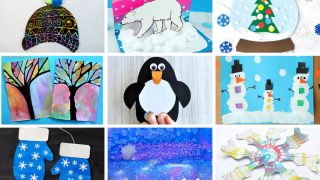 The Ultimate List of 65+ Winter Arts and Crafts