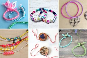 Fun and unique friendship bracelet ideas kids will love to make for their BFF's! Friendship bracelets make a great summer camp, playdate or birthday party craft.