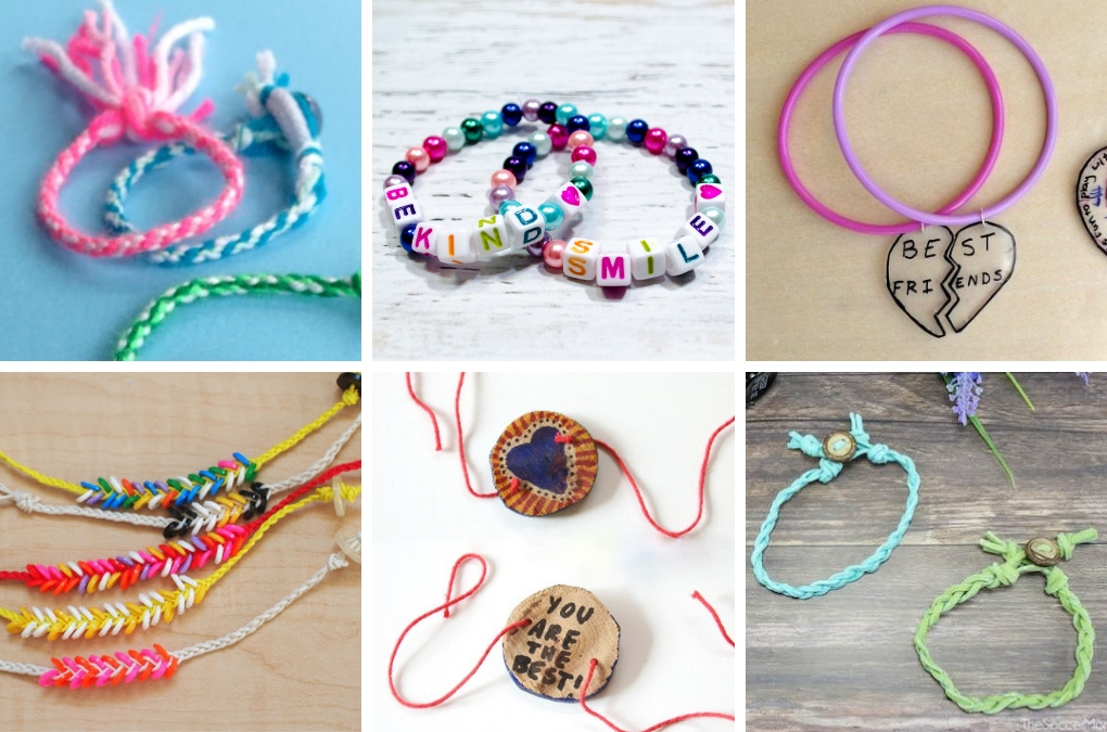 Super Cute Diy Friendship Bracelets Kids Can Make Projects With Kids