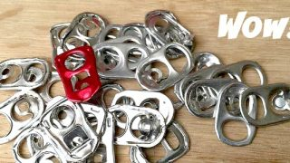 Wow! Such a cool idea for old Pop Tabs. Easy too.