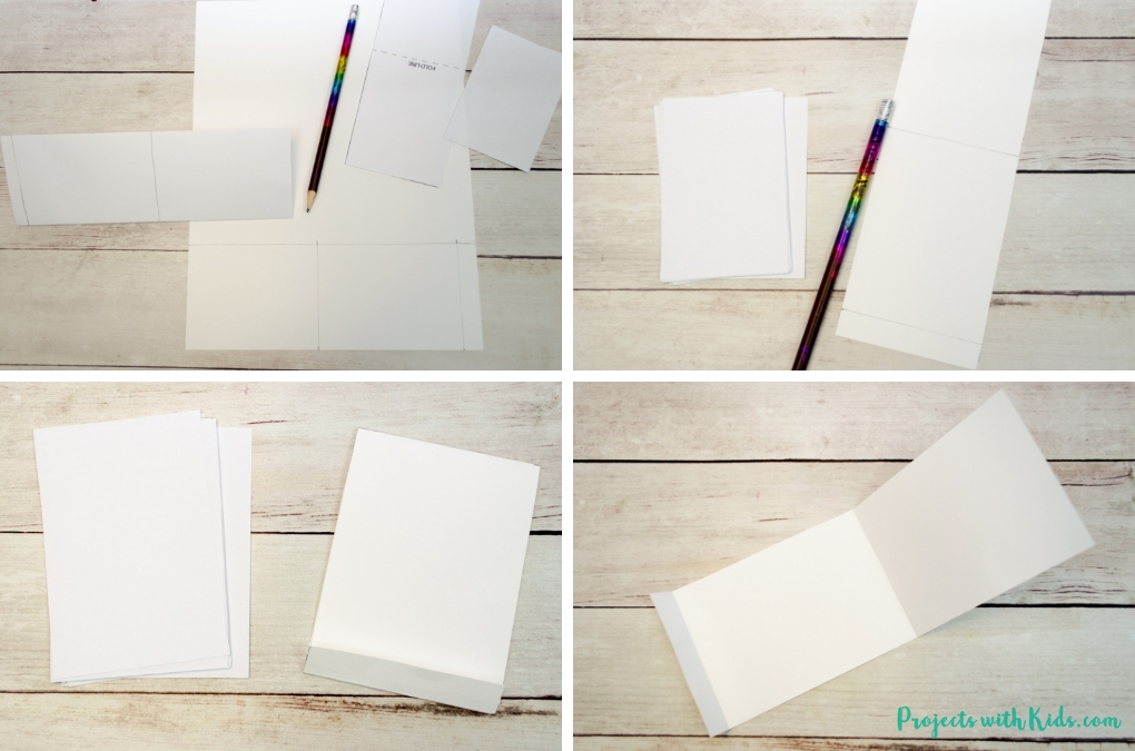 These DIY mini notebooks are absolutely adorable and using fingerprint art makes them the perfect handmade gift idea kids can make for Mother's Day, Father's Day or any occasion! Free notebook template included.