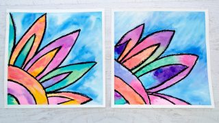 How to Make a Beautiful Watercolor Flower Painting
