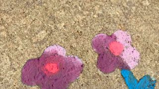 Super Fun & Easy Sidewalk Chalk Paint Play Recipe
