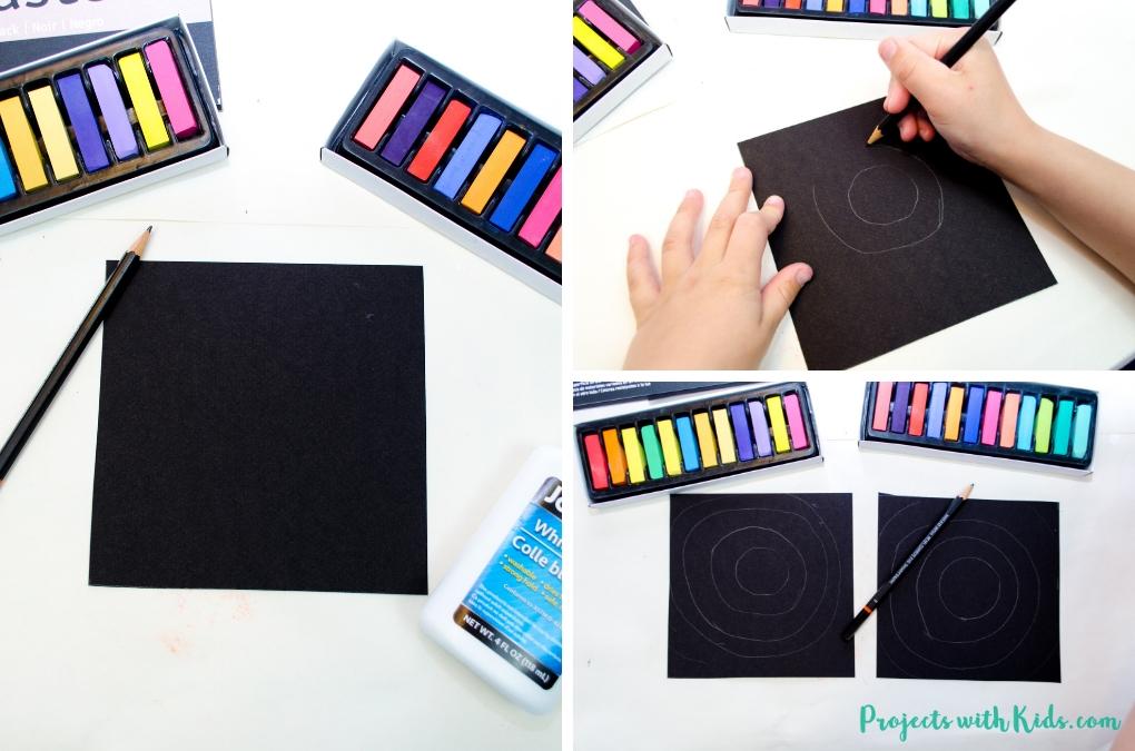 Start creating your Kandinsky inspired art.