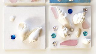 Sea Shell Art for Kids – Perfect Summertime Craft