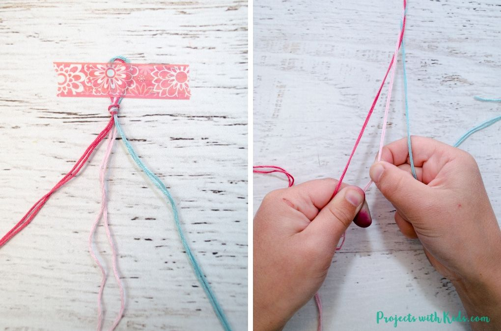 Easy Braided Friendship Bracelets With