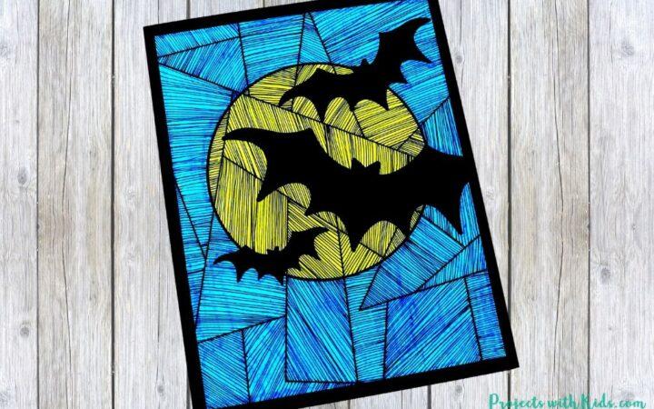 Bat art project