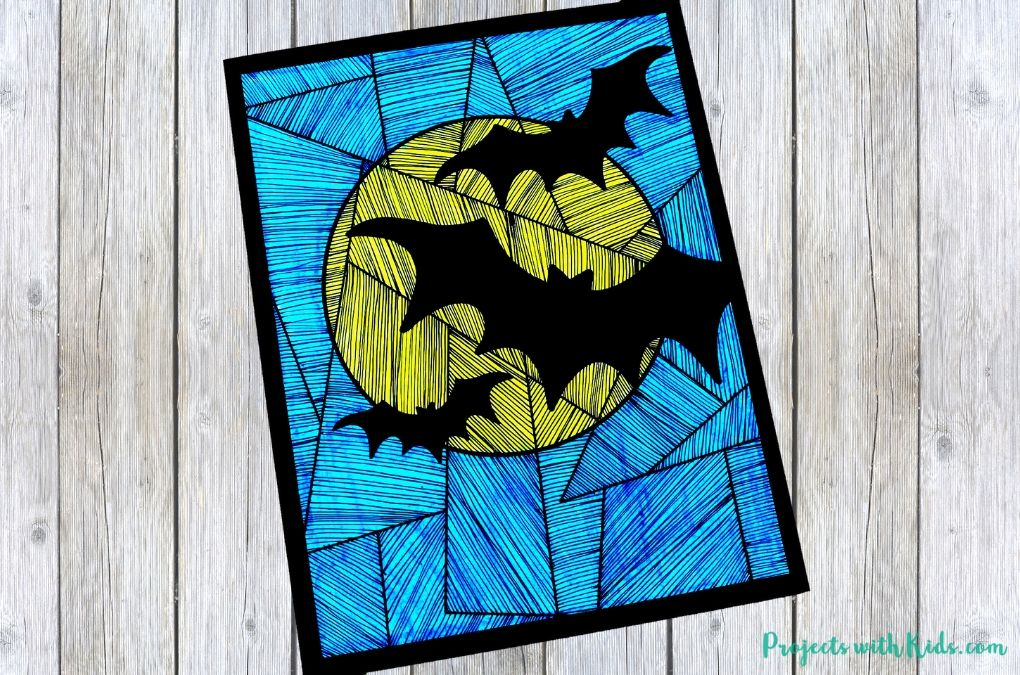 Bat art project