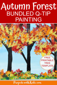 Fall forest craft for kids