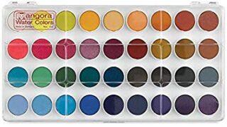 Angora Watercolor Set, 36 Color Pan Set (100510660)