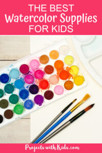 Beginner watercolor supplies for kids