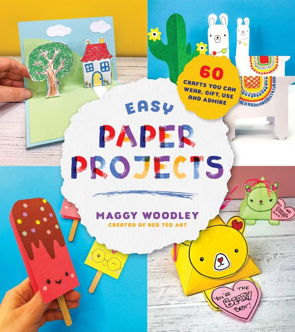 Easy paper projects book