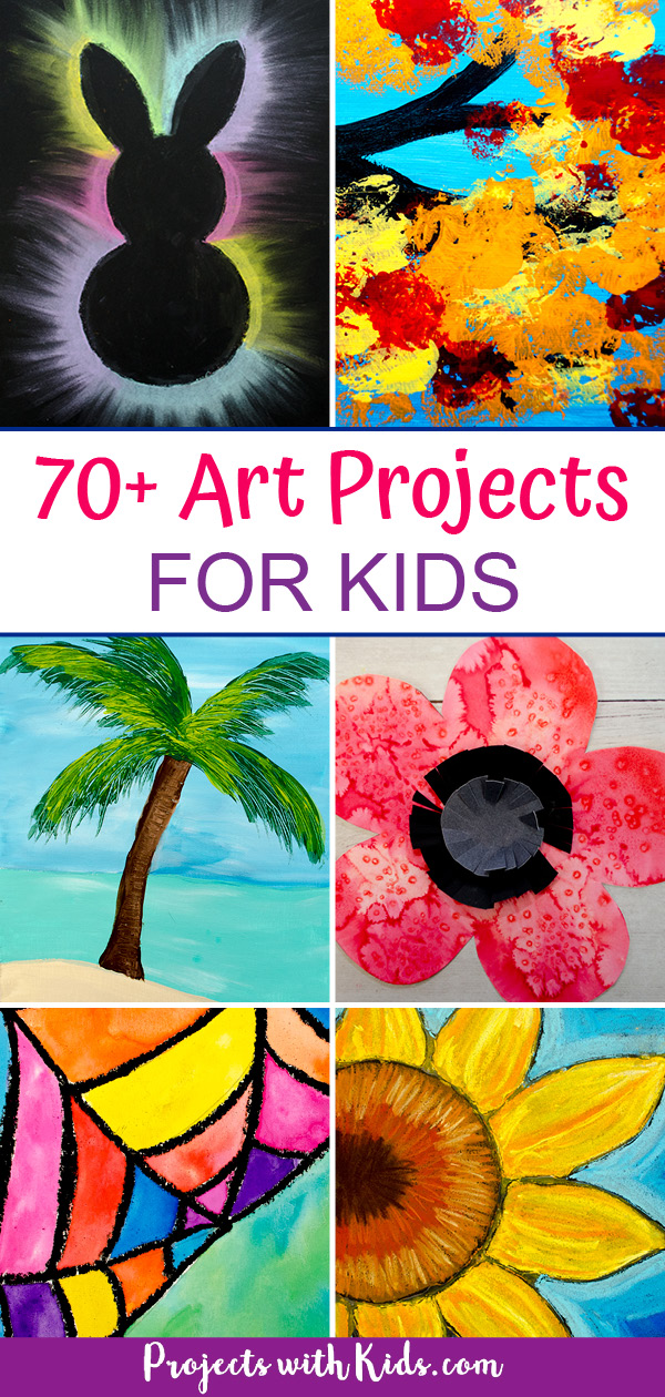 Fun and creative art projects for kids