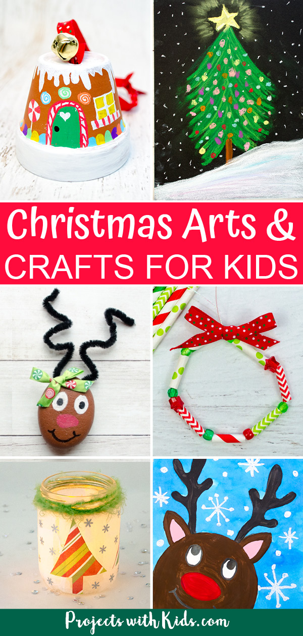 Christmas arts and crafts for kids to make.