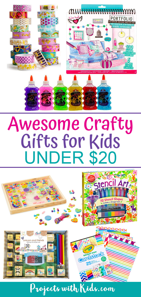 Crafty gift ideas for kids