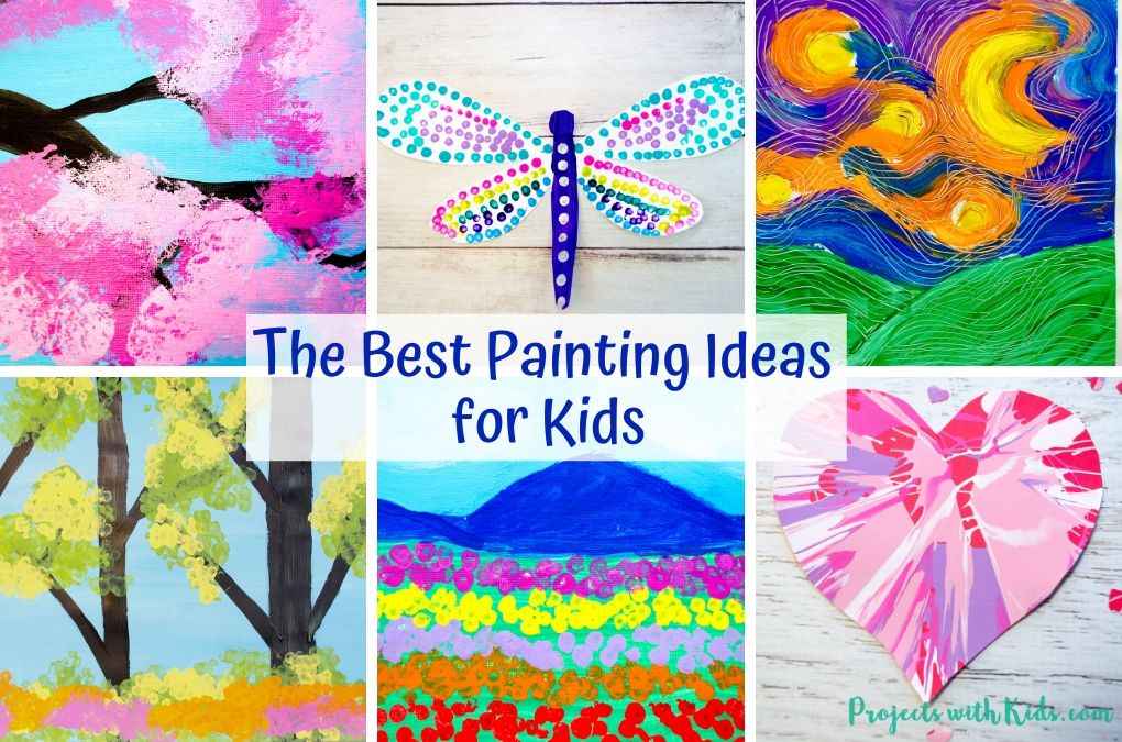 Painting ideas for kids