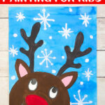 Reindeer art for kids to make
