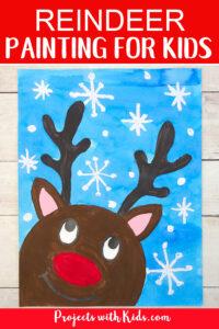 Reindeer art for kids to make