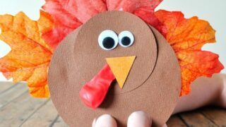 Gobbly Fun Turkey Finger Puppets