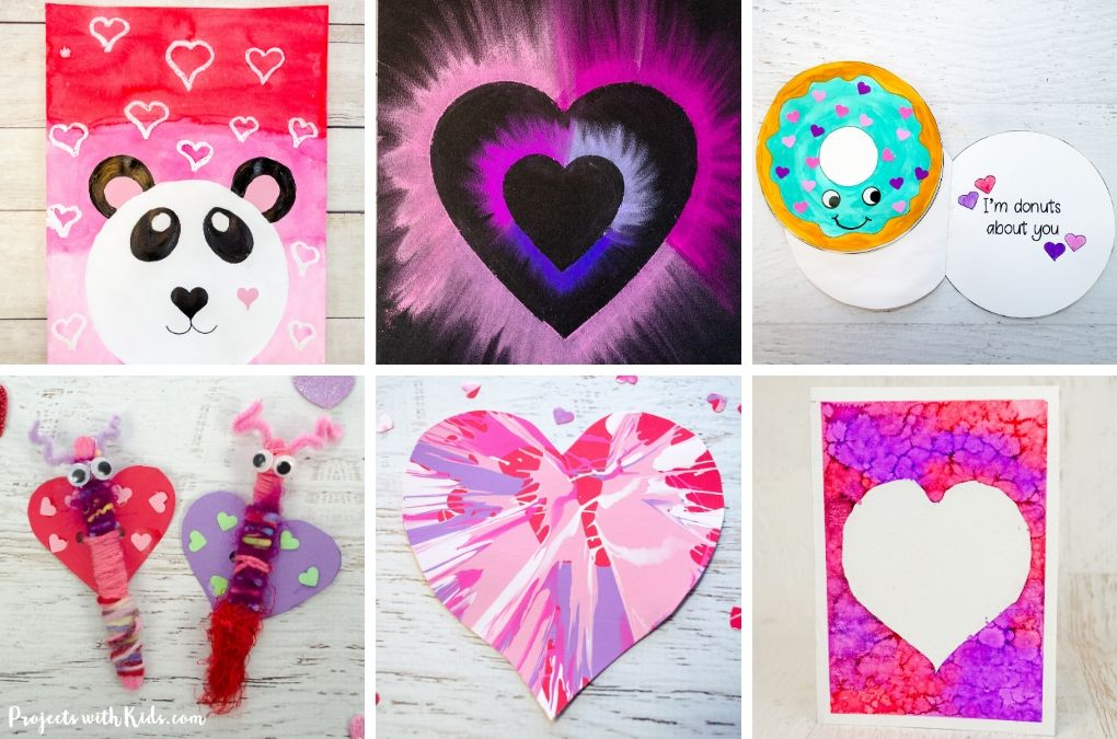 Creative Valentine S Day Arts And Crafts Kids Will Love Projects
