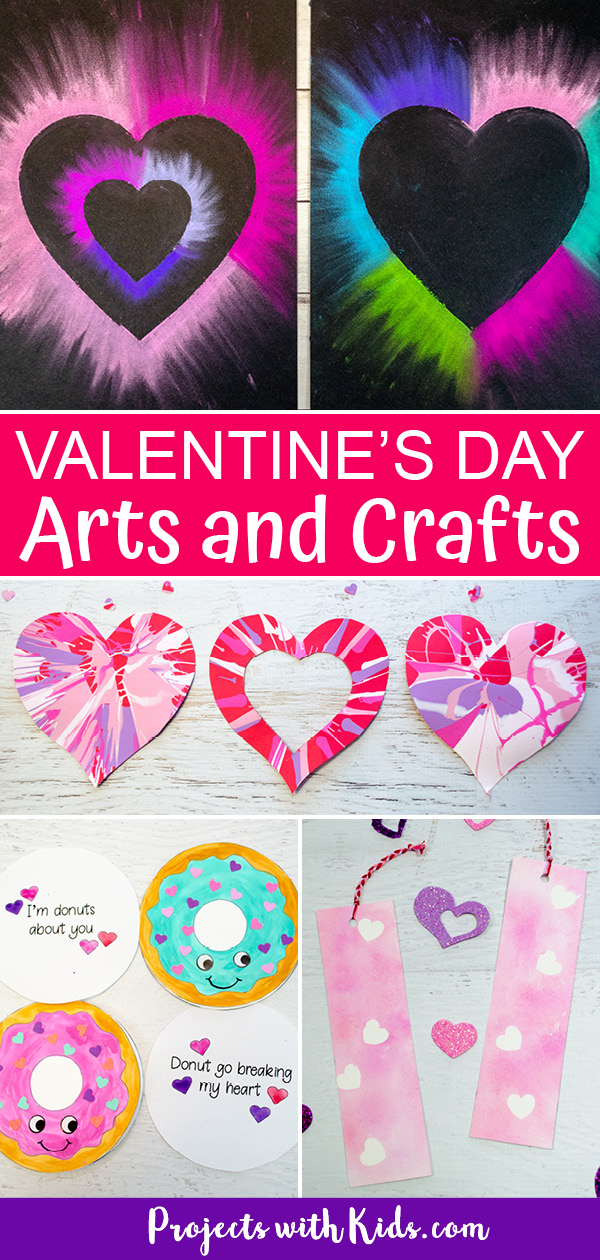 Valentine's Day projects for kids make