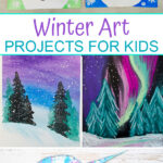 Winter art projects for kids to make